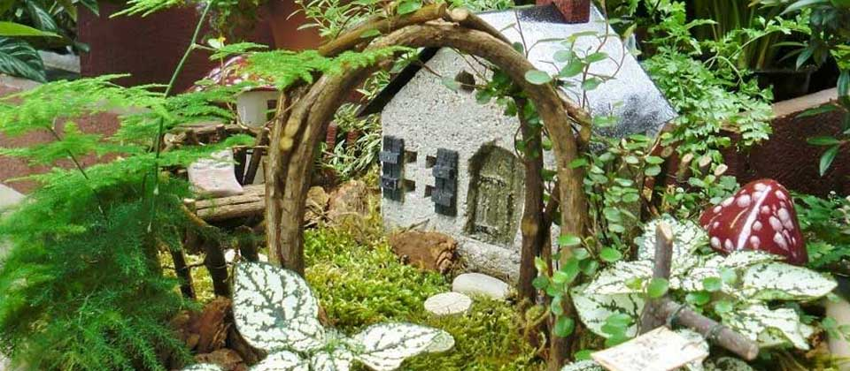 , An Urban Fairy Garden To Enjoy Indoors All Year!, Redwood Nursery & Garden Center