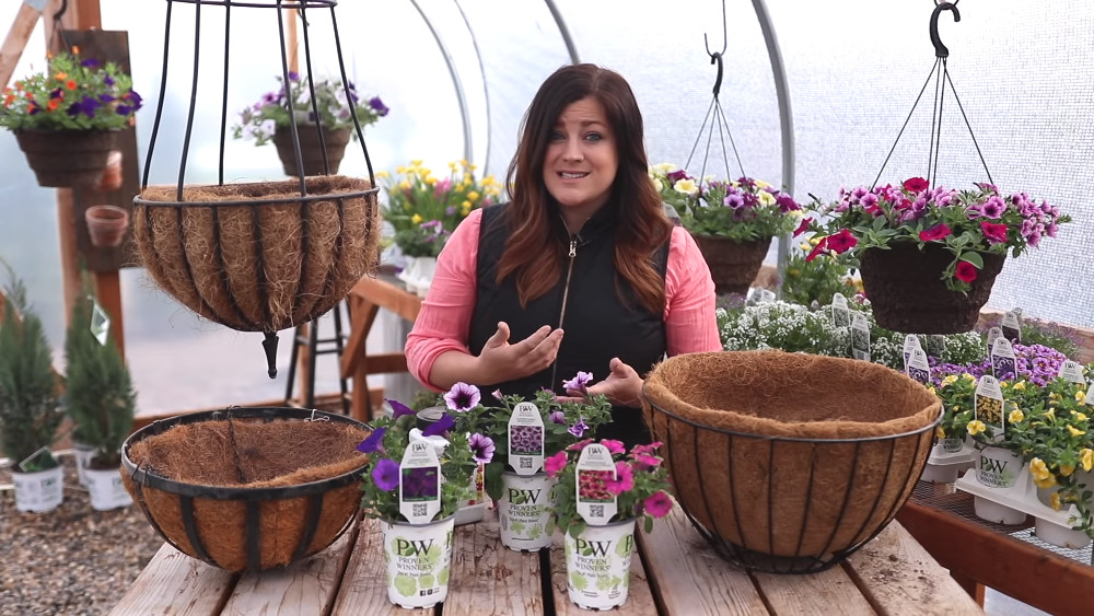 , Creating Hanging Baskets, Redwood Nursery & Garden Center