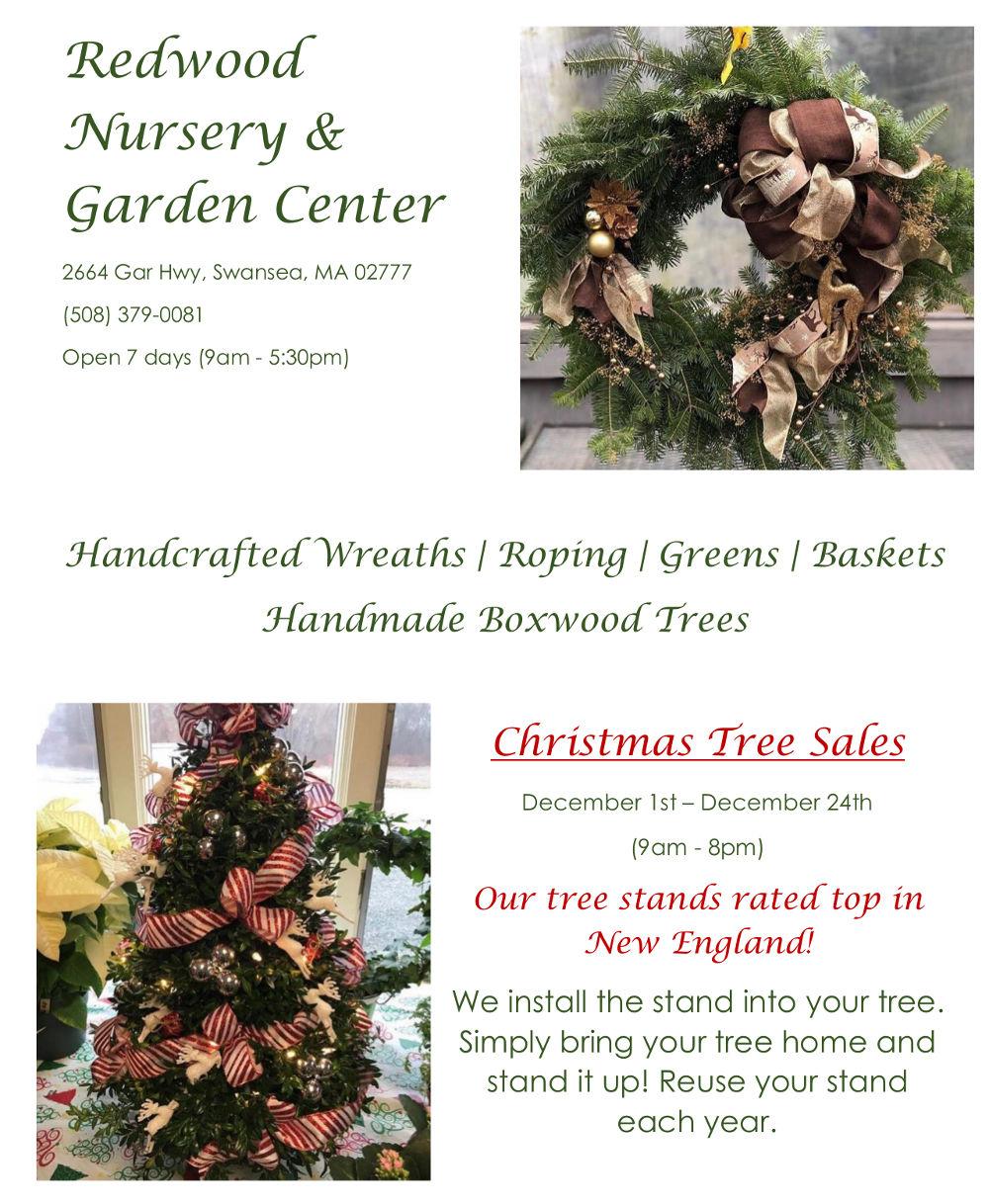 , Christmas Sales, Redwood Nursery & Garden Center
