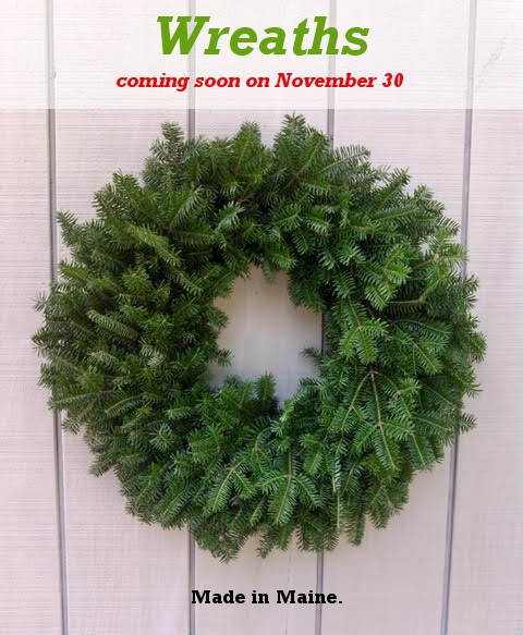 , Wreaths Coming Soon – November 30, Redwood Nursery & Garden Center, Redwood Nursery & Garden Center